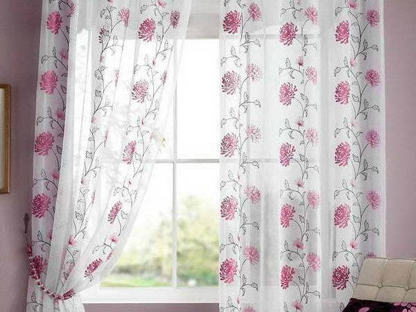 Miscellaneous Curtain Sheers Simple Window Decorations