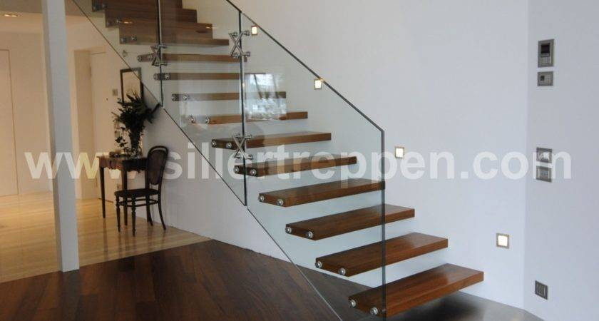 Mistral Glass Stair Structural Staircase
