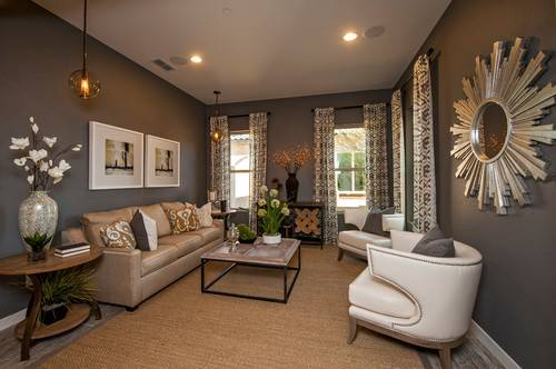 Mixing Brown Black Beige Gray Design Decor