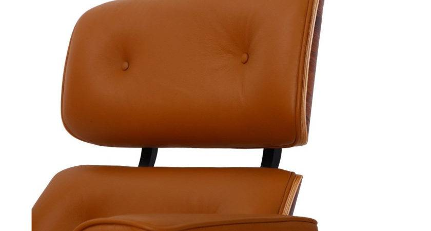 Mod Lounge Chair Ottoman Terracotta Palisander