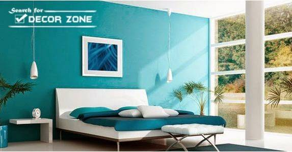 Modern Bedroom Designs Turquoise Color
