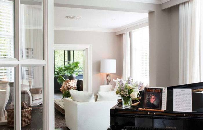 Modern Classic House Interior Eclectic Touch