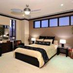 Modern Fan Lighting Ideas Contemporary Bedroom
