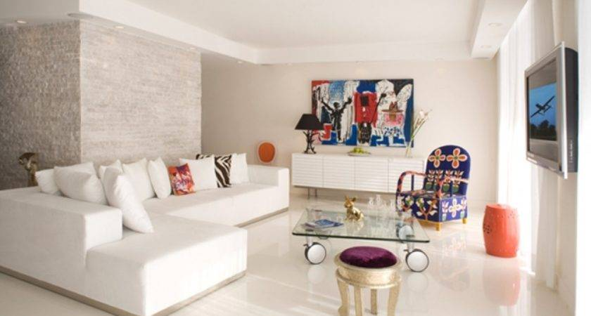 Modern Furniture Small Apartments Living