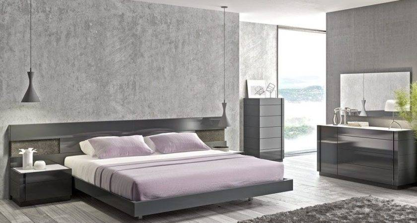 Modern Home Gray Bedroom Furniture Ideas