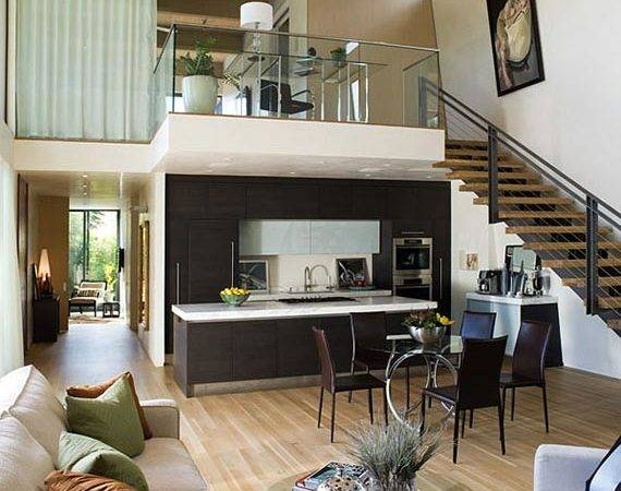 Modern House Shaped Architecture Design