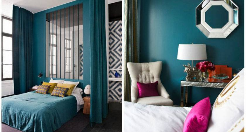 Modern Interiors Turquoise Color Home Interior
