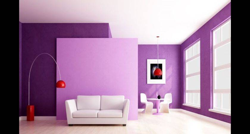 Modern Living Room Wall Paint Best Color Combination