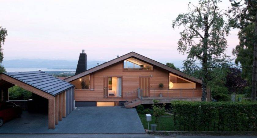 Modern Minimalist Swiss Chalet Most Beautiful Houses