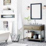 Modern Retro Bathroom Cool Black White