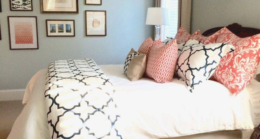 Modern Rules Salmon Color Bedroom