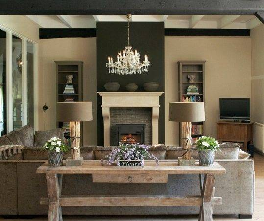 Modern Rustic Living Room House Decorators Collection