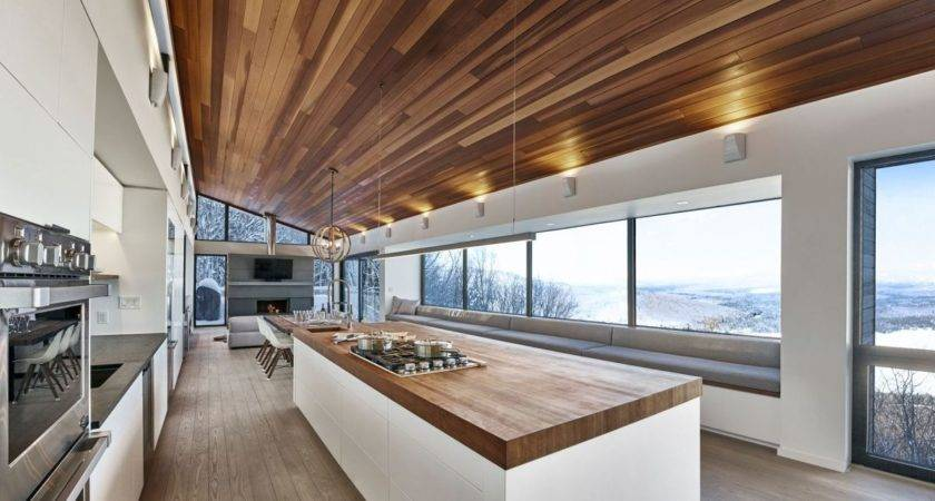 Modern Ski Chalet Quebec Serves Ideal Retreat