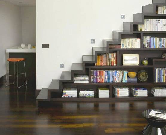 Modern Storage Ideas Small Spaces Staircase Design