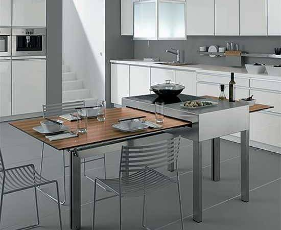 Modern Tables Small Kitchens Show Adjustable