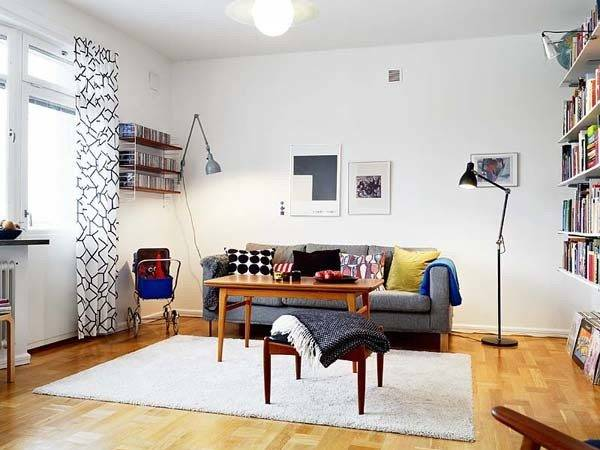 Modern Vintage Apartment Decor