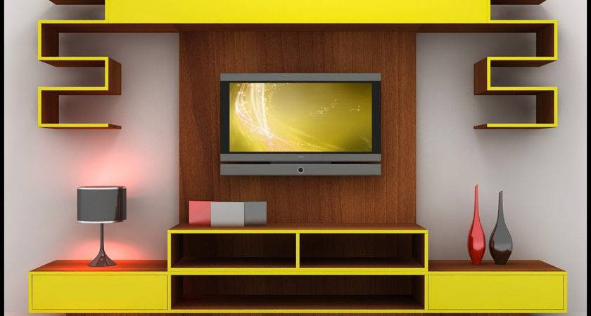 Modern Wall Showcase Designs Living Room Indian Style