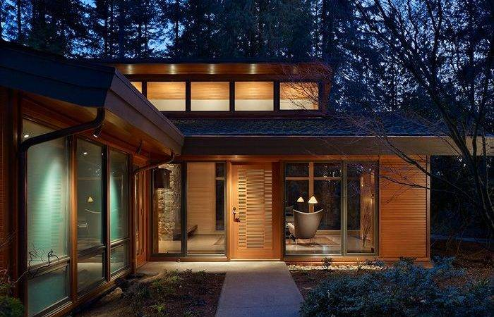 Modern Wood House Home Designs Project