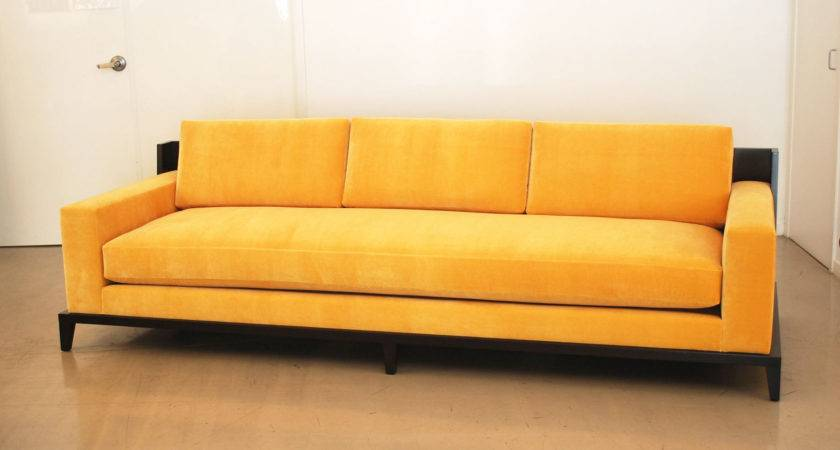 Modern Yellow Sofa Thesofa