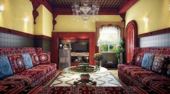 Moroccan Living Room Cor Decor Around World
