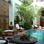 Moroccan Patios Courtyards Ideas Photos Decor