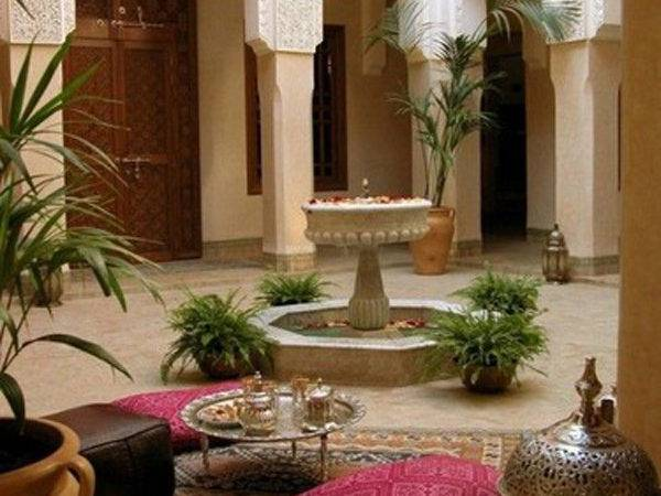 Moroccan Style House Outdoor Spaces Home Design