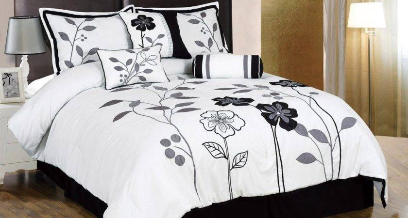 Most Beautiful Black White Bedding Sets Comfortables