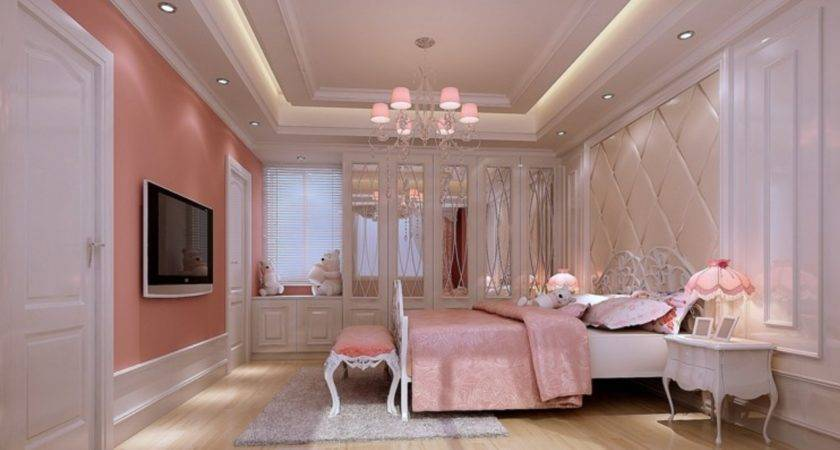 Most Beautiful Pink Bedroom Interior Design