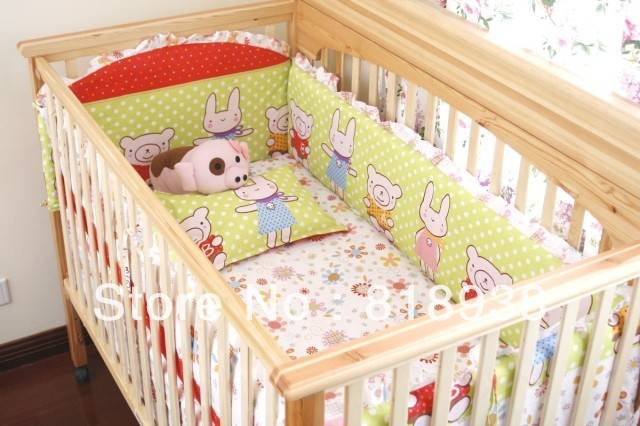 Most Popular Cotton Baby Beding Set Cheap Infant Cribs
