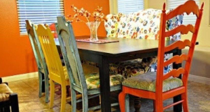 Multi Colored Dining Room Chairs Alliancemv