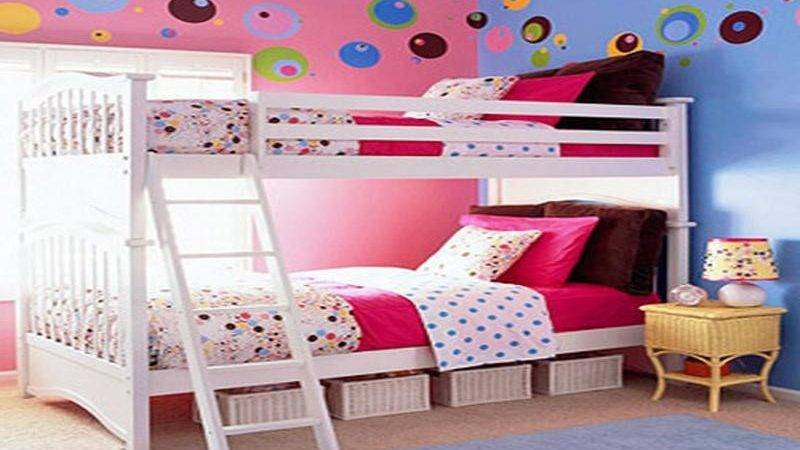 Multiple Combinations Blue Pink Room Ideas