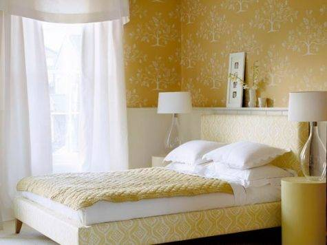 Mustard Bedroom Modern Designs