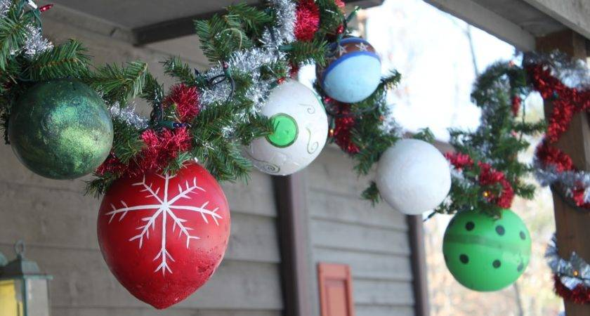 Myselff Hand Made Outdoor Ornaments Tutorial