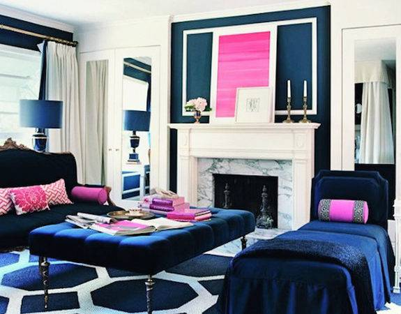 Navy Blue Rooms Blog