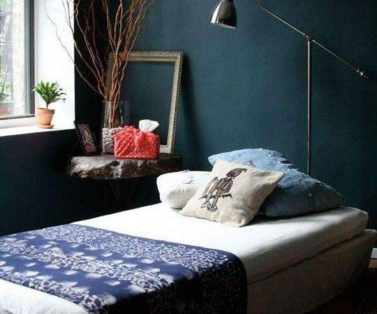 20 Dark Blue Paint Bedroom Ideas Little Big Adventure
