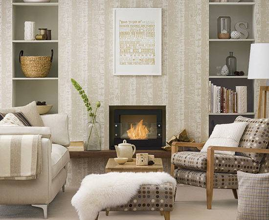 Neutral Living Room Ideal Home