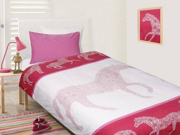 New Childrens Happy Kids Giddy Horse Quilt Cover Set