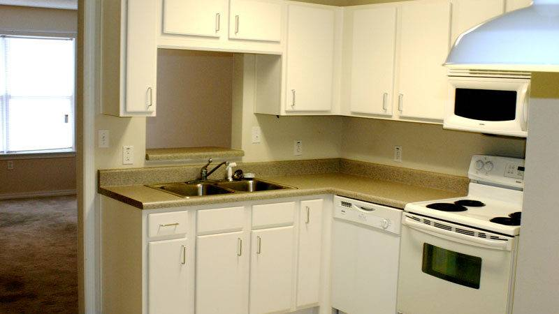 New Color Small Apartment Kitchen Design Modern Kitchens