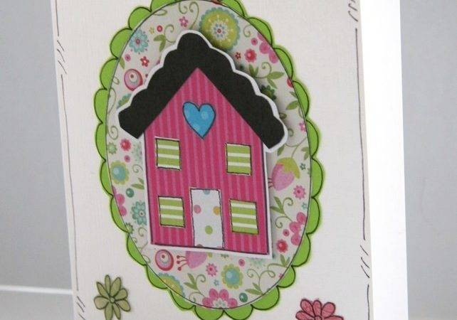 New Home Card Personalised Handcrafted Folksy