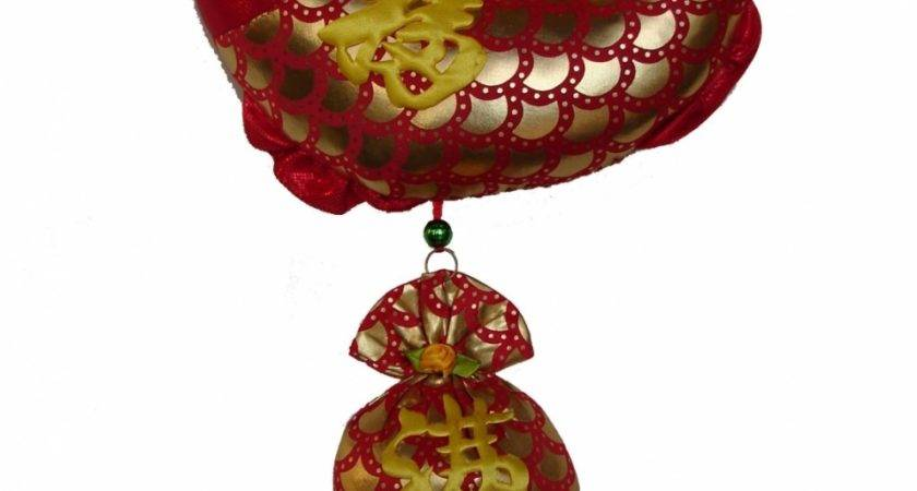 New Year Charm Fish Money Bag Chinese