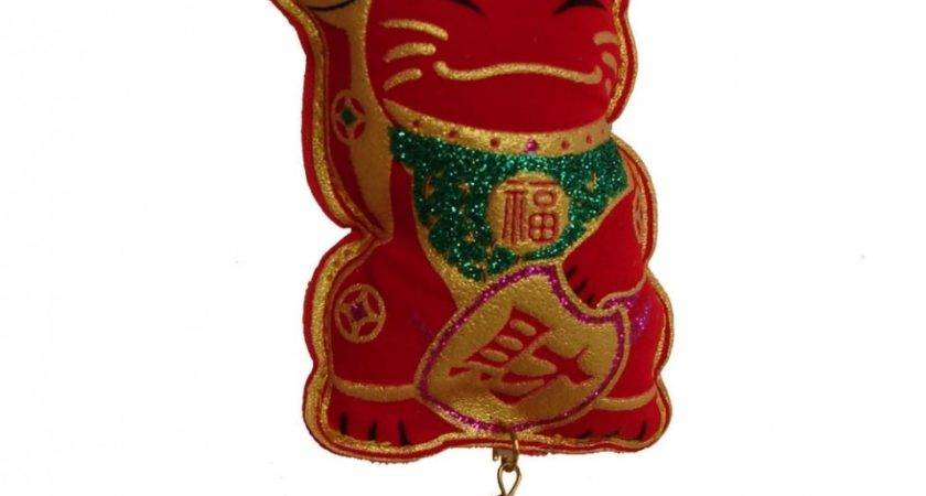 New Year Decoration Charm Lucky Cat