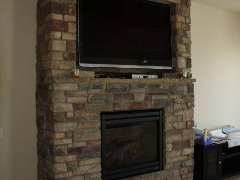 Nice Fireplaces Stone Fireplace Above