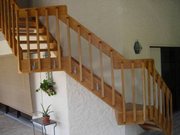 Nice Interior Railing Ideas Wood Stair Railings