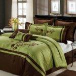 Nice Presence Green Brown Bedding Sets Atzine