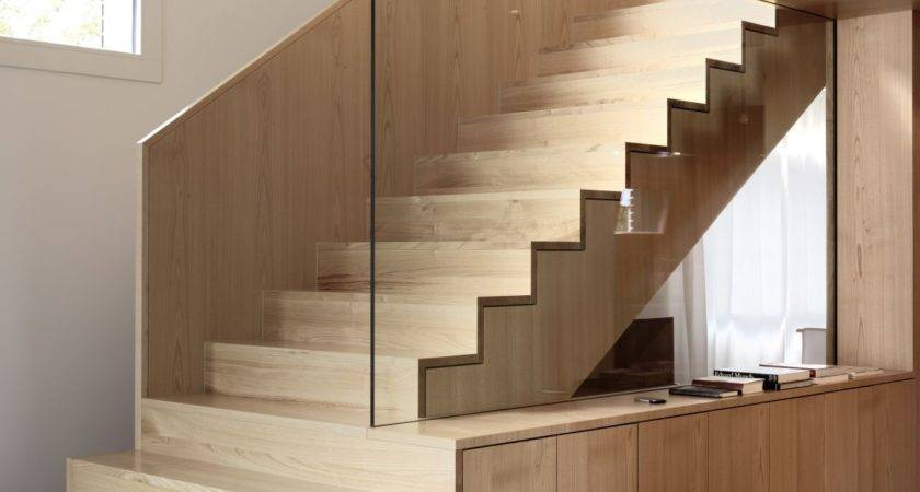 Nimmrichter Cda Architects Interior Wood Stairs Design