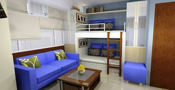 Ong Studio Type Condo Cubao Projects Interior