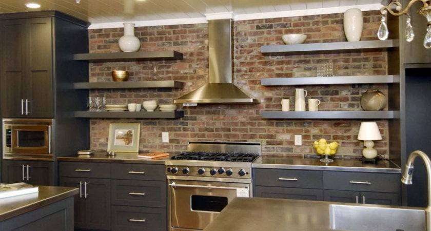 Open Kitchen Cabinets Curtains Home Design Ideas