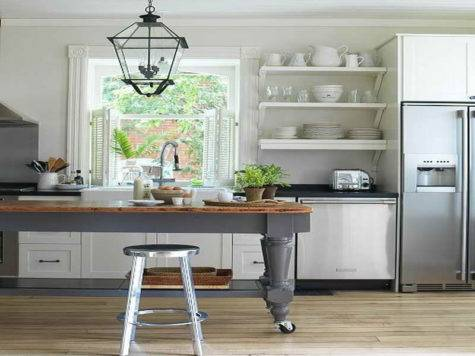 Open Kitchen Shelving Ideas Closed Cabinets
