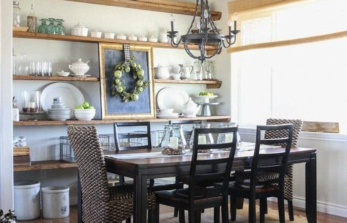 Open Shelving Dining Room Small Ideas