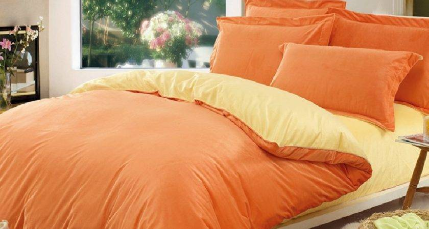 Orange Bed Sets Bedding Beautiful Bedroom